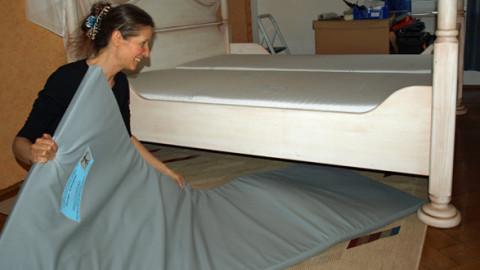 Strahlenschutzmatte für das Schlafzimmer