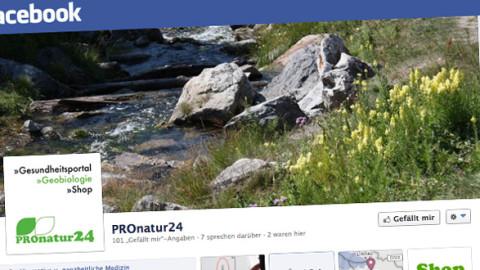 PROnatur24 auf facebook – Jetzt NEU!