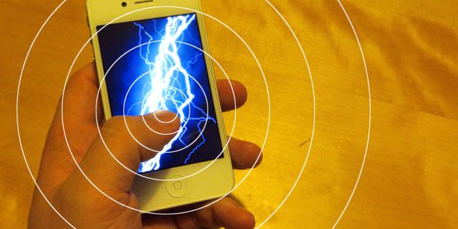 Mobiltelefone sind toll, aber produzieren viel Strahlung.