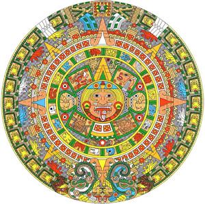 Der Kalender der Maya. 5.000 Jahre alt!