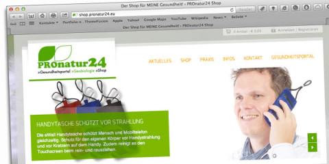 START FREI für den PROnatur24 Shop!