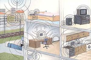 Quellen für Elektrosmog im Haus/Wohnung