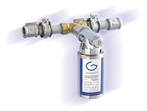 Grander Installation in Wasserleitung (©grander.com)