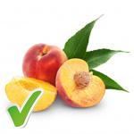 Pfirsich schnell und einfach zerteilen