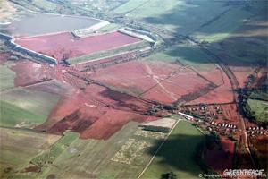 Rotschlamm-Katastrophe in Ungarn