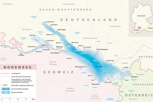 Bodensee 3-Länder-Eck (©Wikipedia)