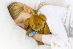 Kinder spüren wo sie gut schlafen