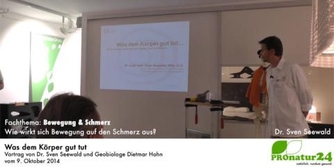 """""""Was dem Körper gut tut"""", Vortrag bei Hase & Kramer in Dornbirn"""