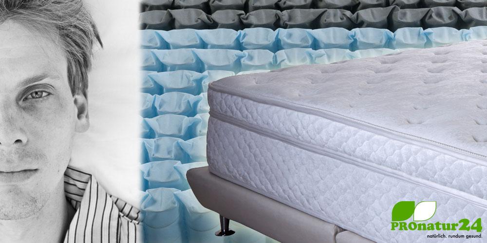 Entscheidende Grundregel bei Bett, Matratze und Bettzubehör. Ausnahmslos Metallfrei!