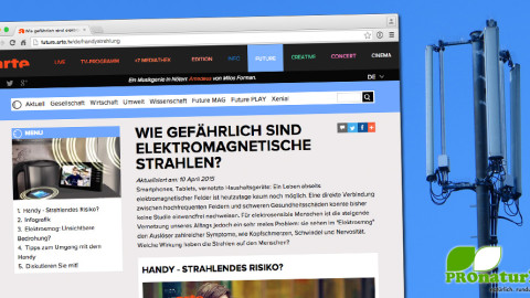 Handy – Strahlendes Risiko? Eine Dokumentation auf ARTE.