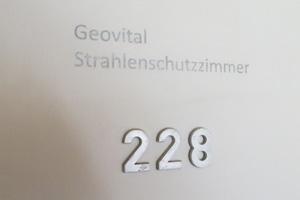 Das GEOVITAL Strahlenschutzzimmer 228